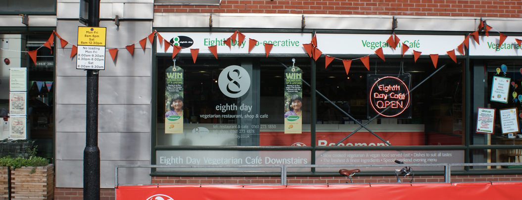 8th Day Co Op Vegetarian Healthfood Shop And Cafe Manchester